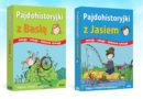 Pajdohistoryjki z Basią i Jasiem – ilustrowane karty z wierszykami dla przedszkolaków