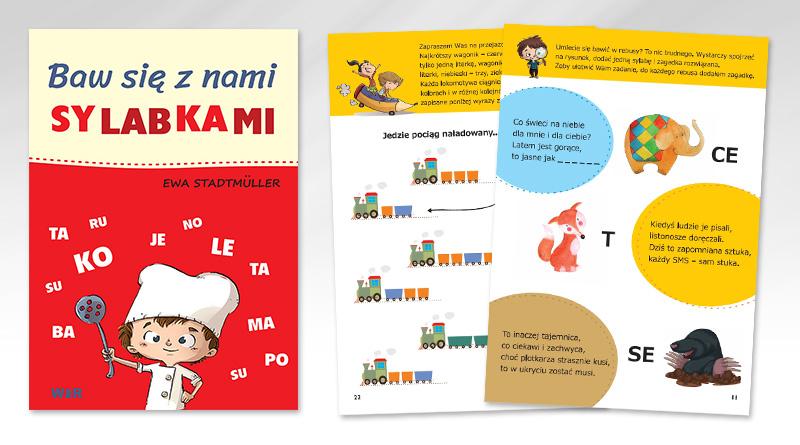 """""""Baw się z nami sylabkami"""" – zabawy dla dzieci uczących się czytać"""