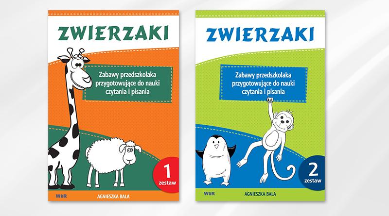 Zwierzaki –  Zabawy przedszkolaka przygotowujące do nauki czytania i pisania