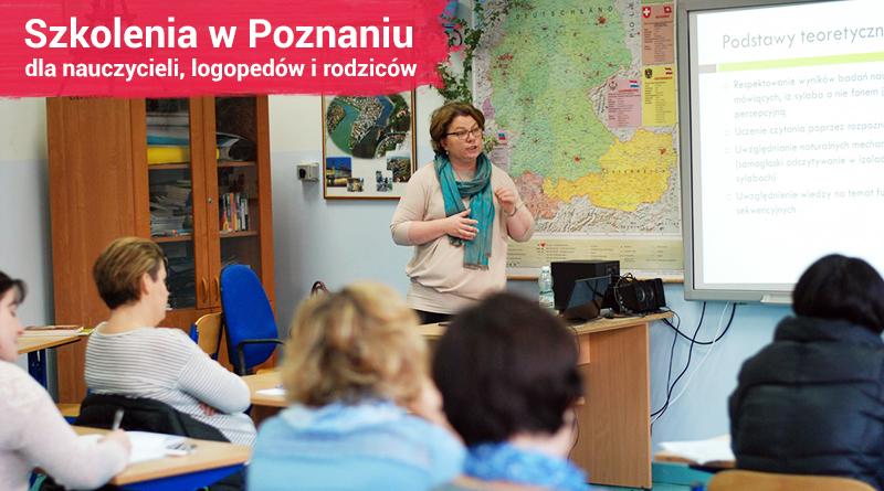 """Szkolenia dla nauczycieli i logopedów – """"II Spotkania z Edukacją w Poznaniu"""" – 8.04.2017"""