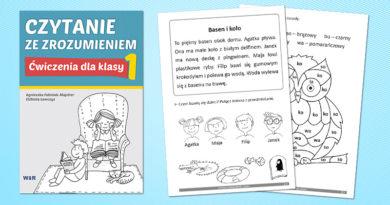 Czytanie ze zrozumieniem – Ćwiczenia dla klasy 1